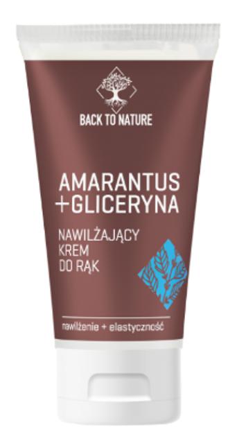 Back To Nature Nawilżający krem do rąk Amarantus+Gliceryna 75ml