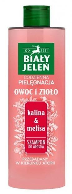 Biały Jeleń Szampon do włosów Kalina&Melisa 400ml