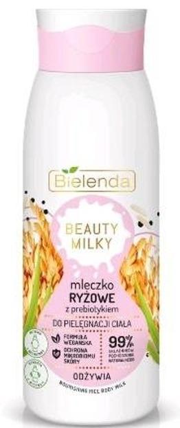 Bielenda Beauty Milky mleczko do ciała Ryżowe 400ml