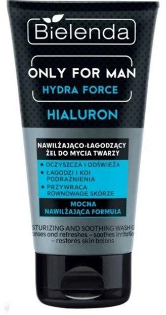 Bielenda Only for Men Hialuron Nawilżajaco-łagodzący żel do mycia twarzy 150g