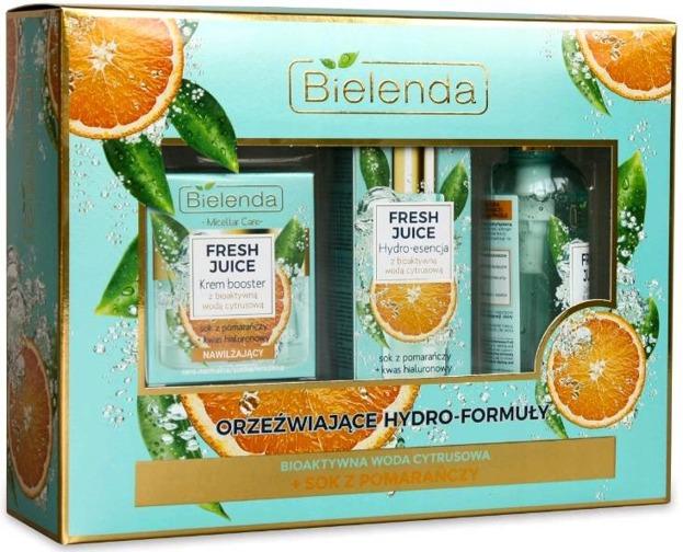 Bielenda ZESTAW Fresh Juice pomarańcza