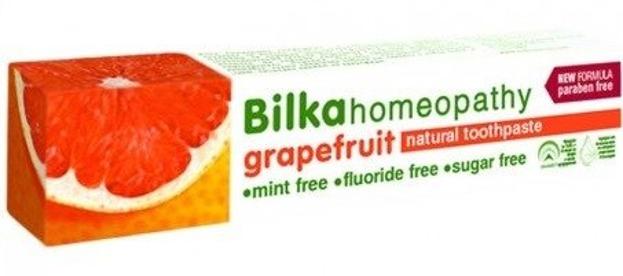 Bilka Homeopathy Grapefruit Pasta do zębów z ekstraktem z grejpruta 75ml