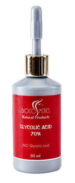 Biocosmetics- Kwas glikolowy 70%, 30ml