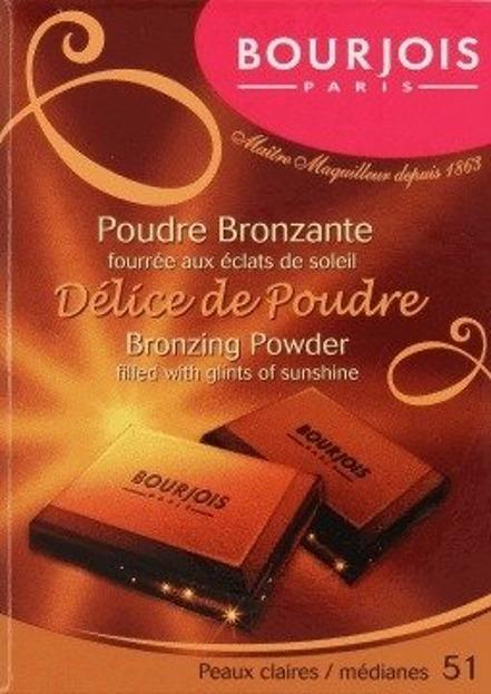 Bourjois Delice de Poudre Bronzante Puder brązujący 51 Peaux Claires
