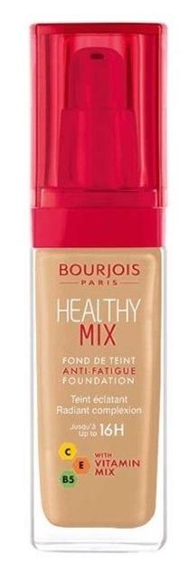 Bourjois Healthy Mix Vitamin Foundation - Witaminowy podkład rozświetlający 55 Dark Beige NOWA WERSJA