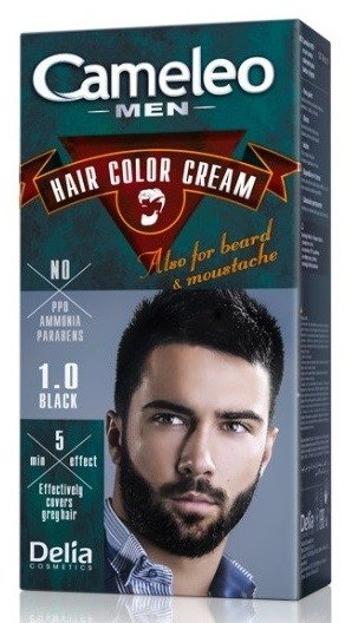 Cameleo Men Farba do włosów 1.0 Black 30ml