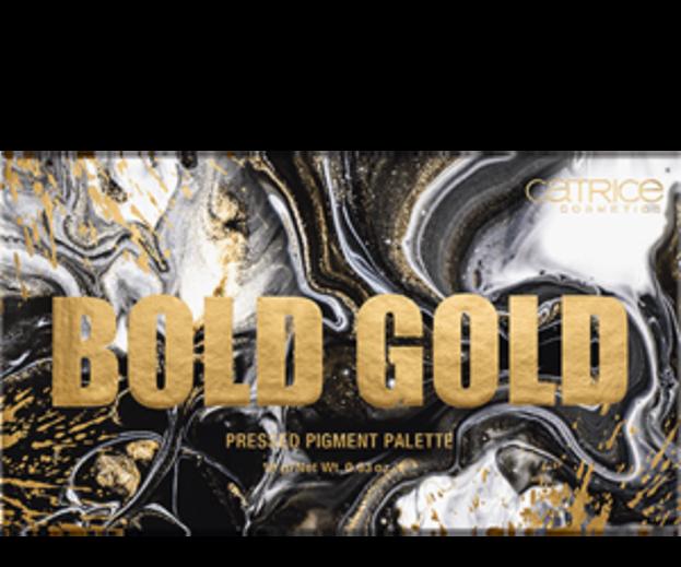 Catrice BOLD GOLD Pressed Pigment Palette Paleta cieni do powiek 18g