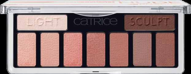 Catrice The Fresh Nude Paleta cieni do powiek 10 Newly Nude