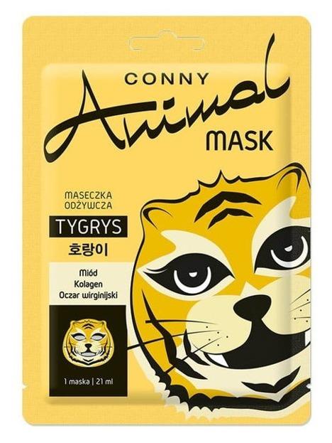 Conny Animal Mask TYGRYS Odżywcza maska w płachcie 21ml