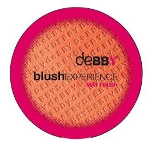 Debby Blush Mat Finish Matowy róż do policzków 01 Peach