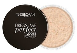 Deborah Dress Me Perfect Matujący puder sypki  02 25g