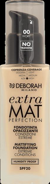 Deborah Podkład do twarzy Extra Mat Perfection 00 Ivory