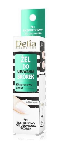 Delia Ekspresowy żel do usuwania skórek 11ml