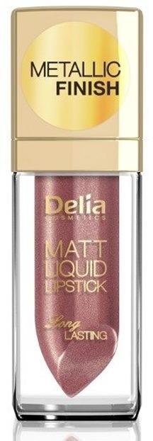 Delia Matt Liquid Lipstick Matowa pomadka w płynie 104