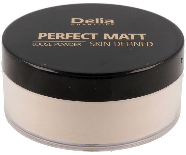 Delia PERFECT MATT Loose Powder Matujący puder sypki 42 Transparent 20g