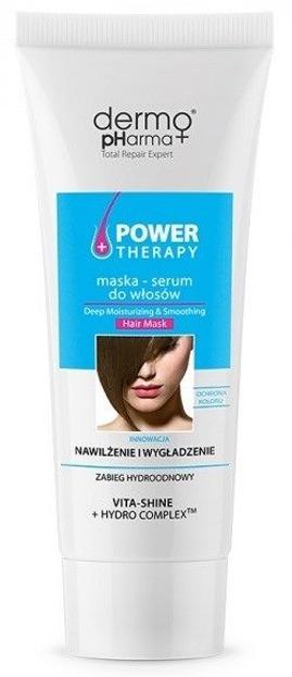 DermoPharma Power Therapy Maska-serum do włosów Nawilżenie 240ml