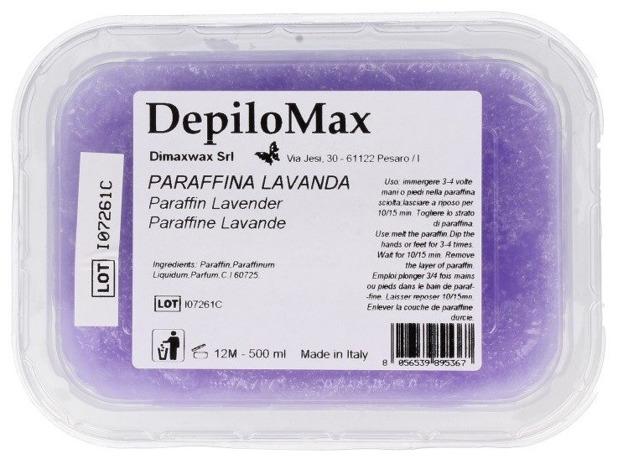 Dimax Parafina kosmetyczna LAVANDA Lawendowa  500ml