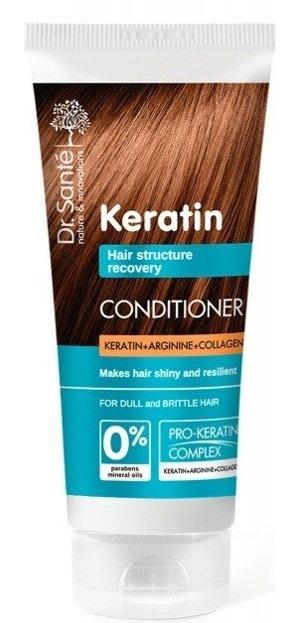 Dr.Sante Keratin Odżywka Do Włosów matowych i łamliwych 200 ml