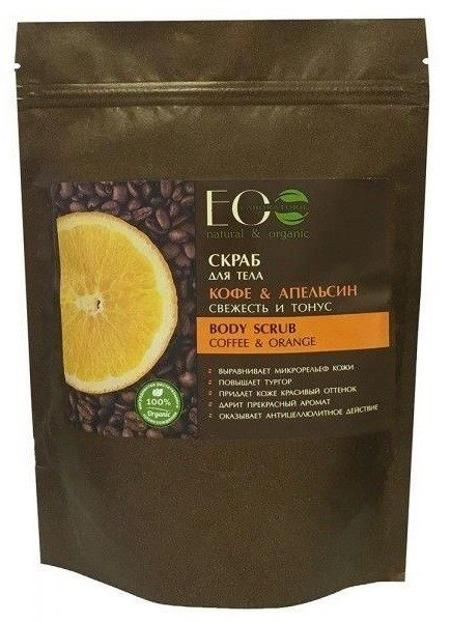EOLAB Coffee & Orange Scrub do twarzy i ciała tonizujący 40g