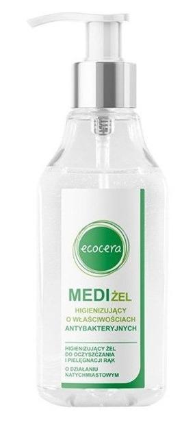 Ecocera MediŻel żel antybakteryjnych 200ml BEZ ALKOHOLU nie wysusza