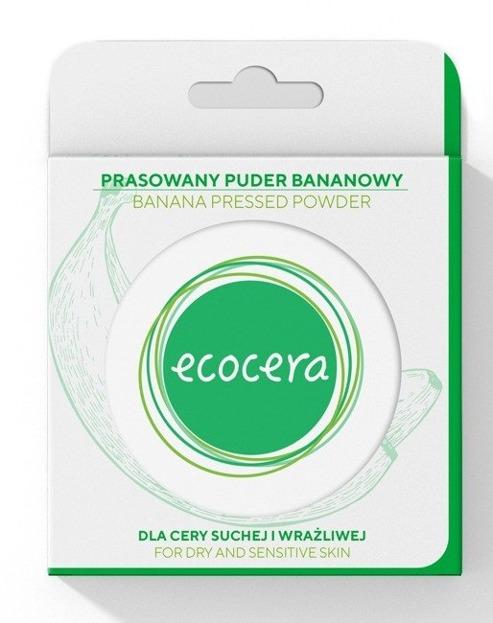 Ecocera Puder bananowy prasowany 10g