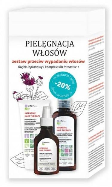 Elfa Intensive Hair Therapy Zestaw prezentowy do włosów Szampon + Serum + Balsam do włosów