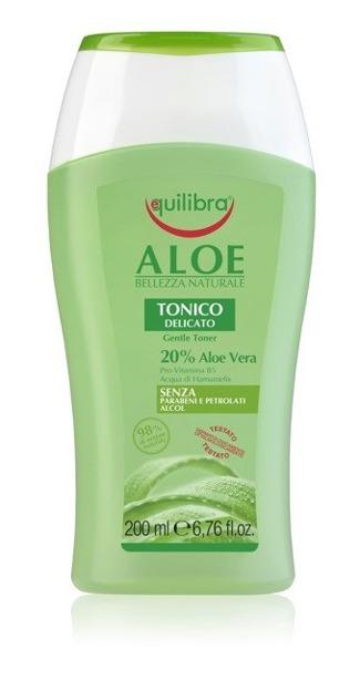 Equilibra Aloesowy tonik do twarzy 200ml