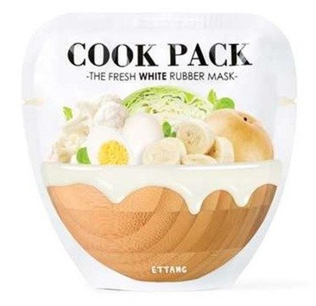 Ettang Cook Pack The Fresh White Rubber Mask Rozjaśniająca maseczka do twarzy