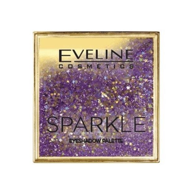 Eveline Sparkle Paleta cieni do powiek