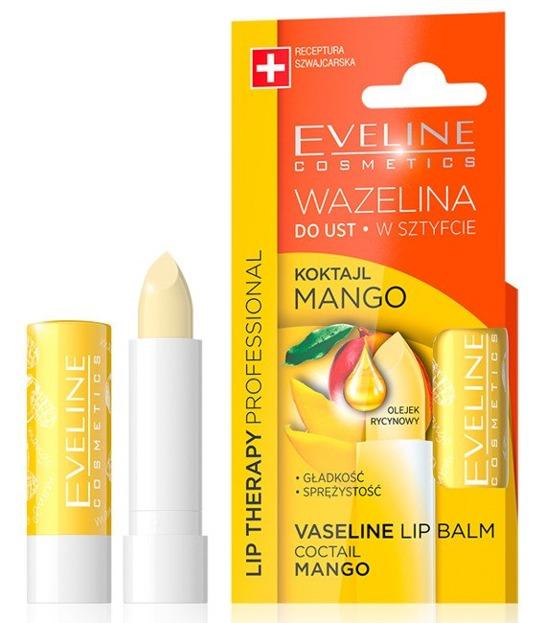 Eveline Wazelina do ust w sztyfcie Koktajl mango