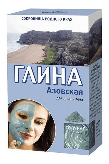 Fitokosmetic Azowska Glinka Błękitna Tonizująca, 2 x 50 g