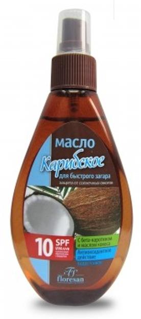 Floresan Karaibski olejek przyspieszający opalanie SPF 10 160ml