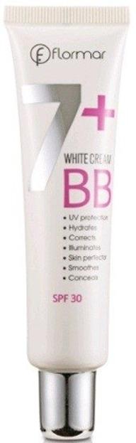 Flormar  BB White Cream 7+ BW05 Neutral Beige 40ml