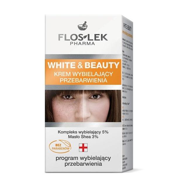 Floslek White&Beauty Krem wybielający przebarwienia