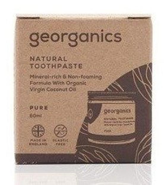 GEORGANICS Mineralna pasta do zębów w słoiku Pure 60ml