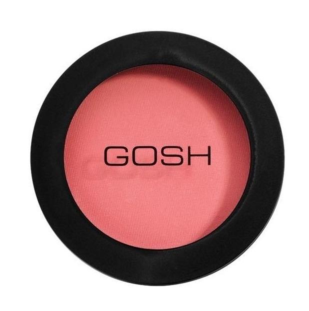 GOSH Natural Blush - Róż na policzki, 43 Flower Powder