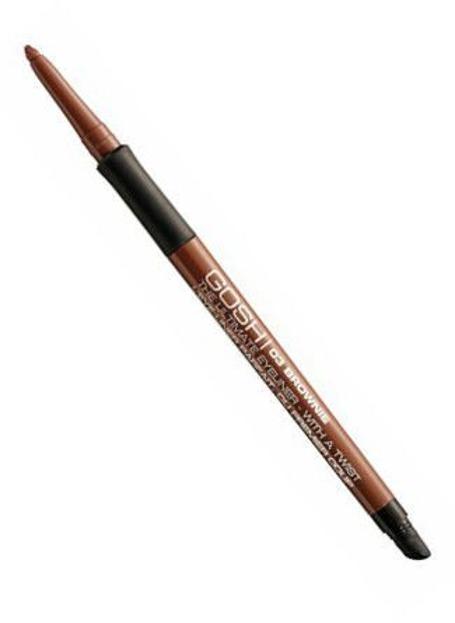 GOSH The Ultimate Eyeliner With a Twist Automatyczna kredka do oczu 03 Brownie
