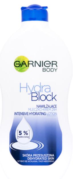 Garnier Body Hydra Block Nawilżające mleczko-krem do ciała 400ml