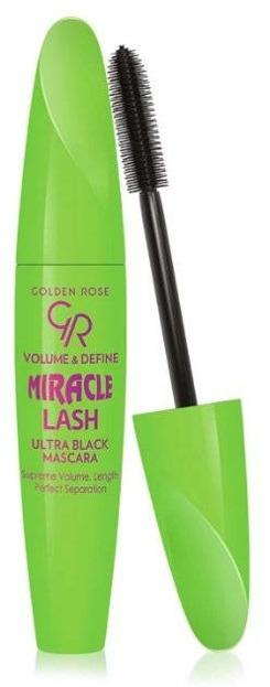 Golden Rose Miracle Lash Mascara Volume&Define Pogrubiająco - wydłużający tusz do rzęs