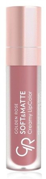 Golden Rose Soft&Matte Creamy Lip Color Matowa pomadka do ust 108