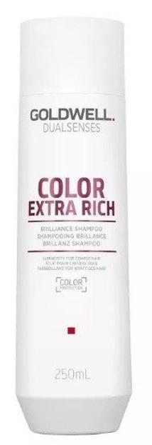 Goldwell Color Extra Rich Shampoo - Szampon do włosów farbowanych, grubych