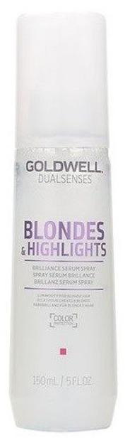 Goldwell Dualsenses Blondes & Highlights Serum Spray - Serum do włosów blond i pasemek 150ml