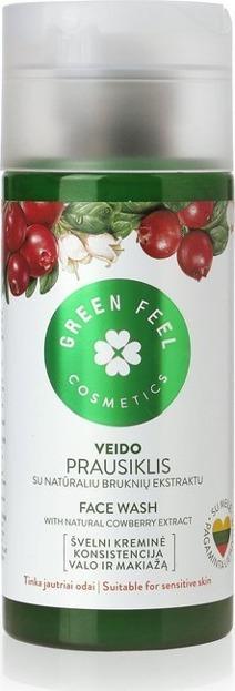 Green Feel's Kremowy żel do mycia twarzy Borówka 150ml