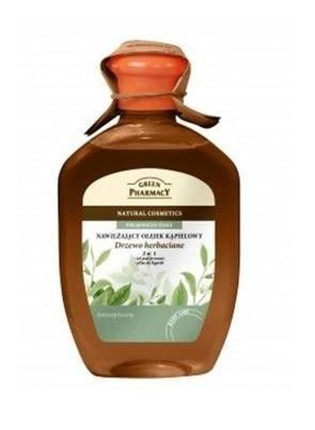 Green Pharmacy Olejek nawilżający do kąpieli Drzewo Herbaciane, 250 ml