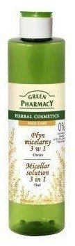 Green Pharmacy Płyn micelarny 3w1 Owies, 250 ml