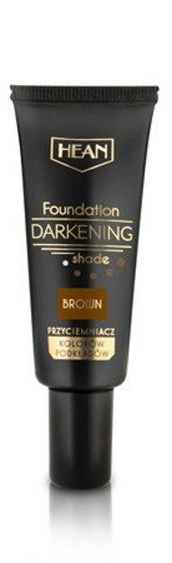 HEAN Foundation Darkening Przyciemniacz kolorów podkładów Brown 20ml