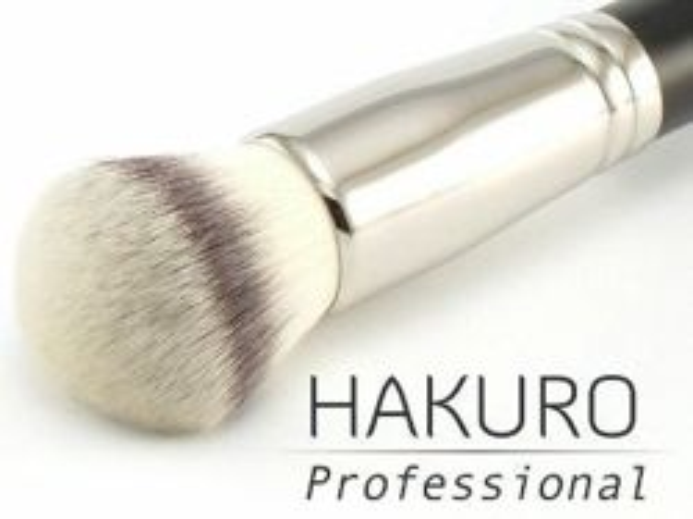 Hakuro H54 - Pędzel typu kulka- do podkładu, różu, bronzera