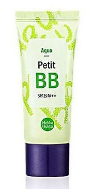 Holika Holika Aqua  Petit BB Cream SPF 25 PA++ - Nawilżająco - korygujący krem BB z zieloną herbatą, 30 ml