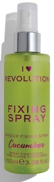 I Heart Revolution Fixing Spray Cucumber Mgiełka utrwalająca do twarzy 100ml