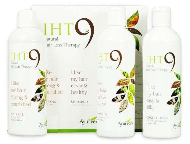 IHT9 Zestaw powstrzymujący wypadanie włosów Szampon+Odżywka+Olejek